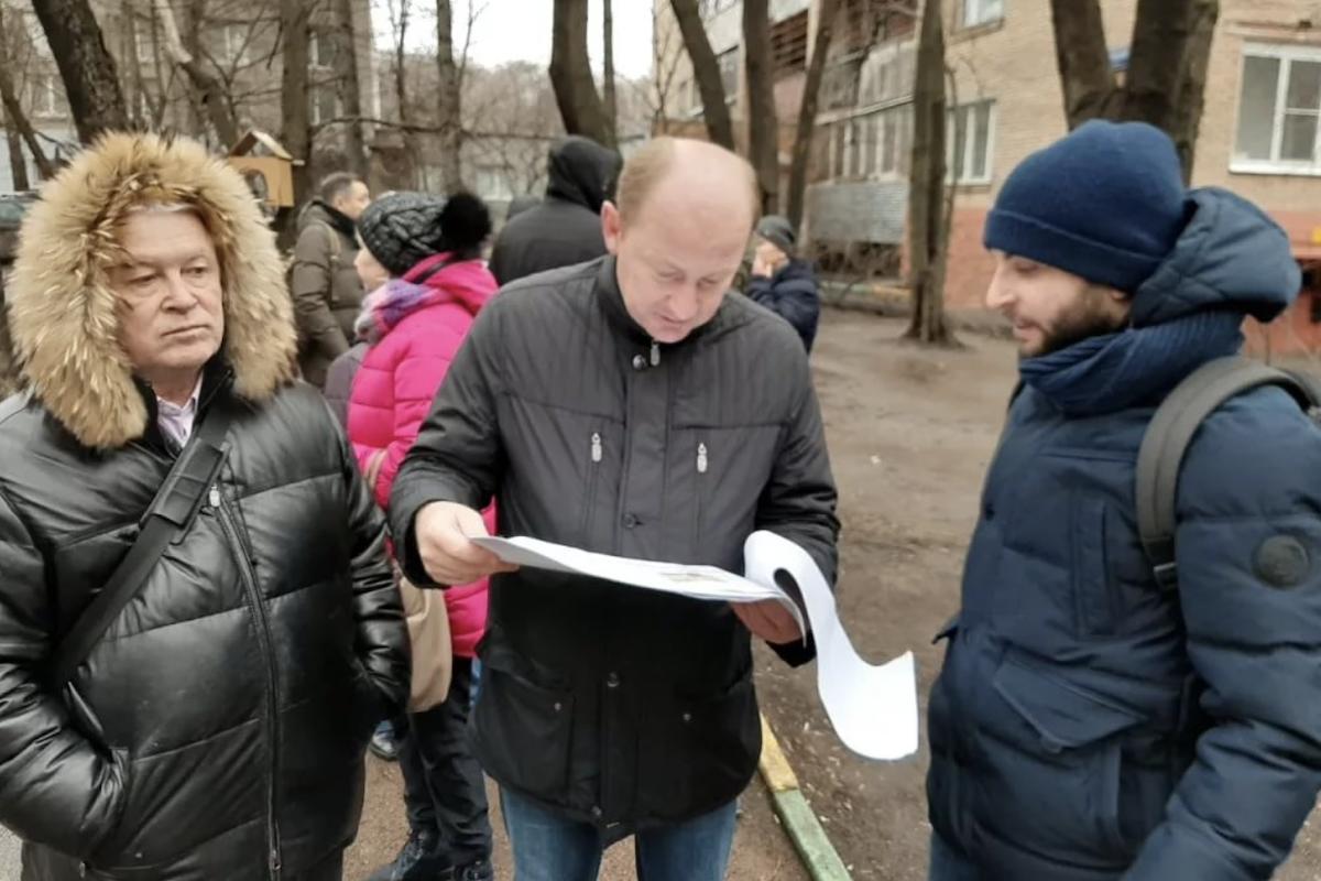 В Cети появилась петиция за отставку главы управы Измайлово